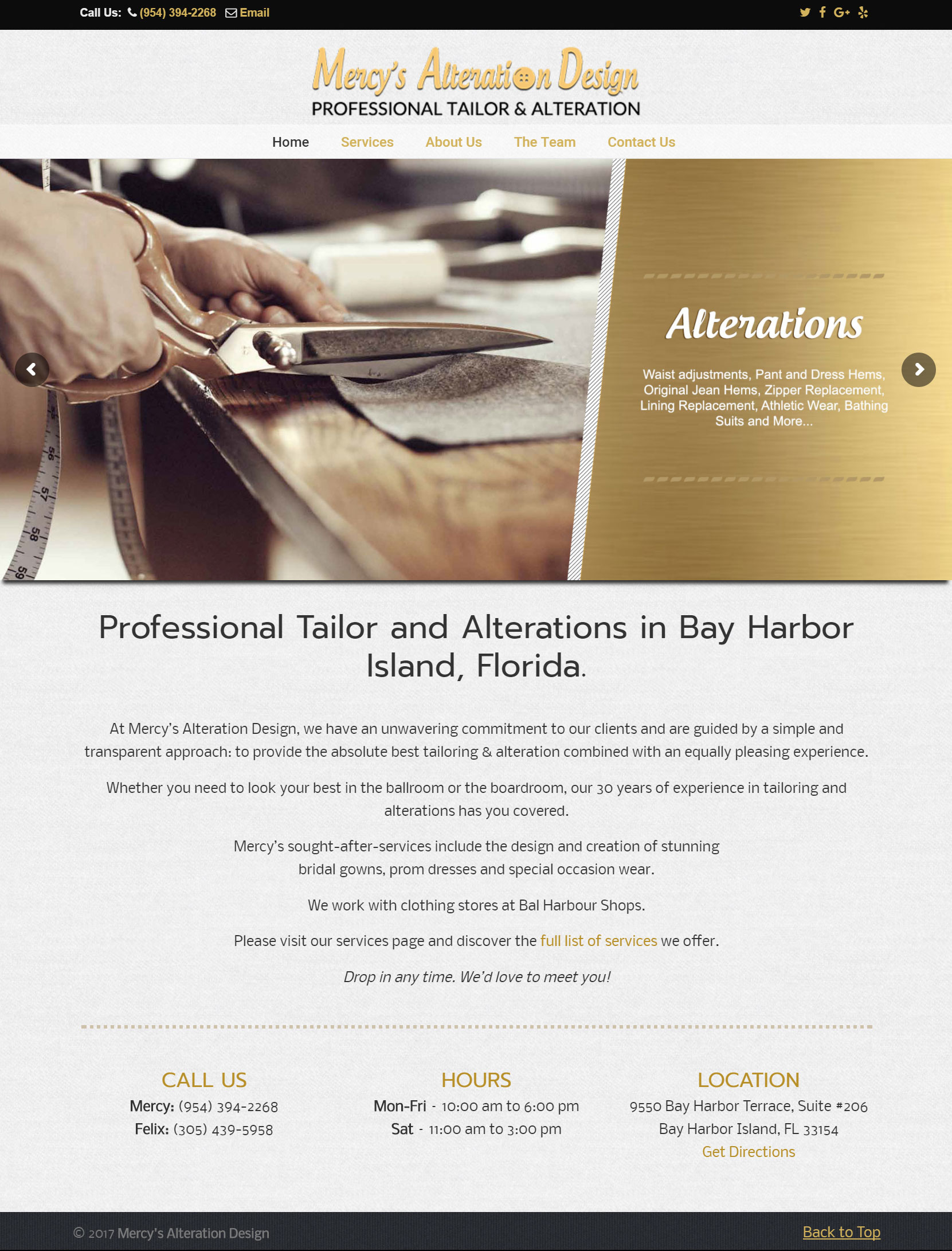 Professional Tailor and Alterations