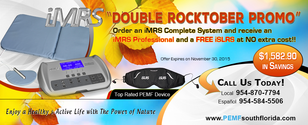 iMRS PEMF Device Fall Promotion