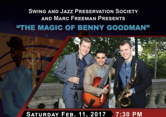 8.5x11 Flyer Design - Swing & Jazz Preservation Society