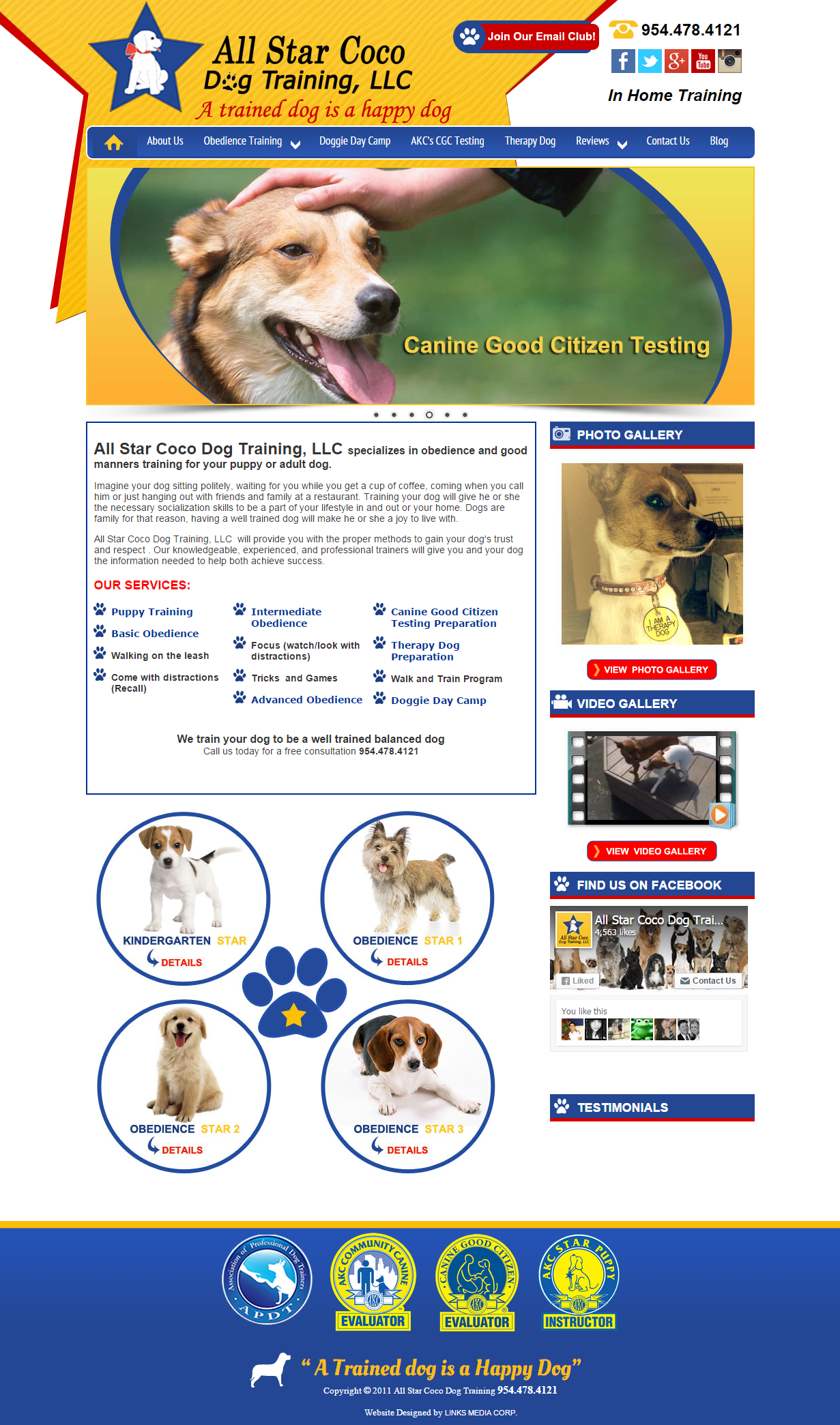 All Star Coco Dog Training, LLC