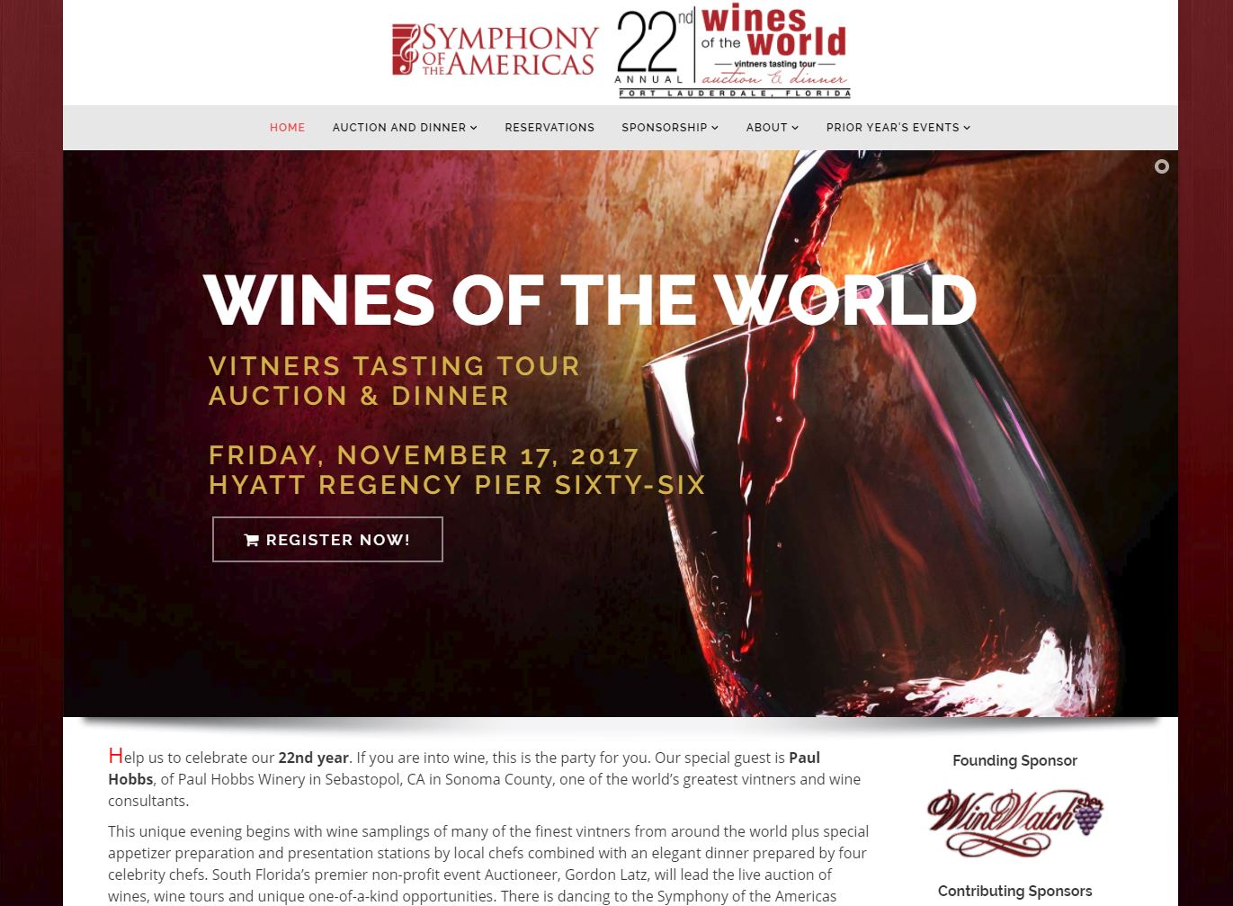 Wines of the world event